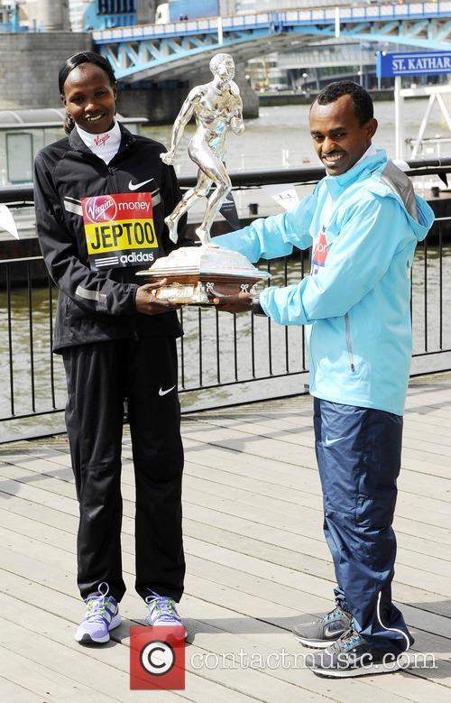 London Marathon Winners photocall