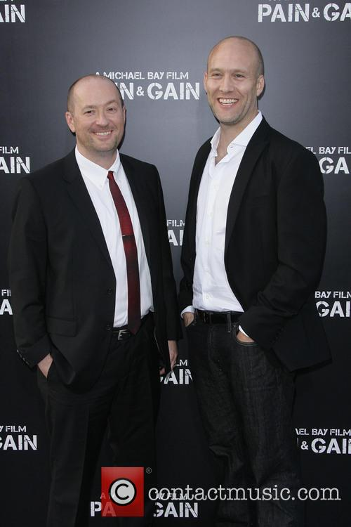 Co-writers Christopher Markus and Stephen Mcfeely 2