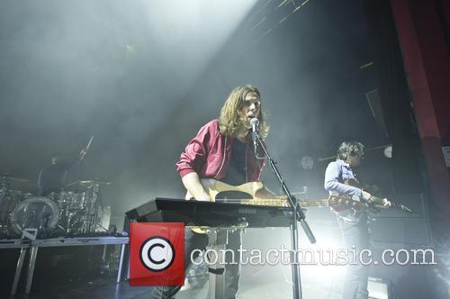 Phoenix keyboardist Deck d'Arcy performing in London