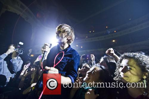 Phoenix performs at London's Shepherds Bush Empire