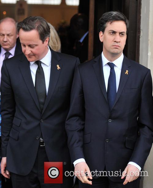 David Cameron, Ed Miliband, Trafalgar Square