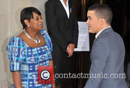 Doreen Lawrence and Jahmene Douglas 8