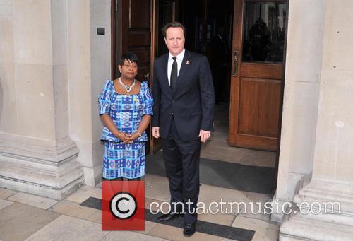 Doreen Lawrence and David Cameron 2