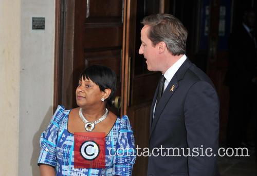 Doreen Lawrence and David Cameron 3