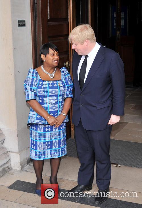 Doreen Lawrence, Boris Johnson, Trafalgar Square