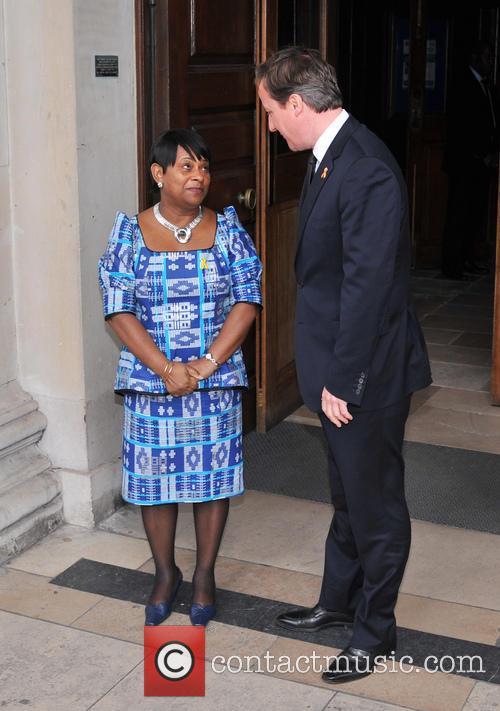 Doreen Lawrence and David Cameron 4