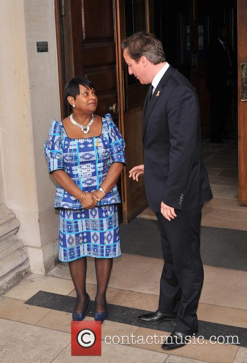 Doreen Lawrence and David Cameron 1