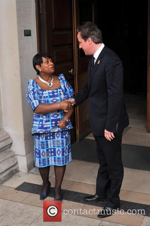 Doreen Lawrence and David Cameron 6