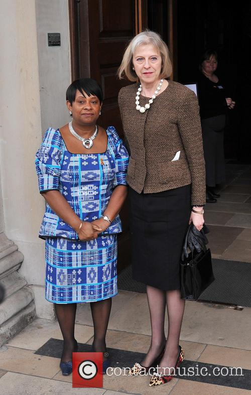 Doreen Lawrence, Theresa May, Trafalgar Square