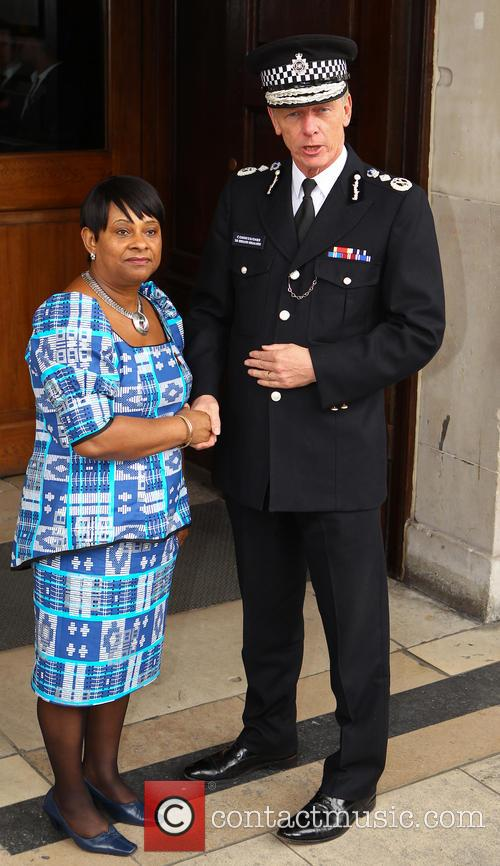 Doreen Lawrence and Commissioner Sir Bernard Hogan Howe 2