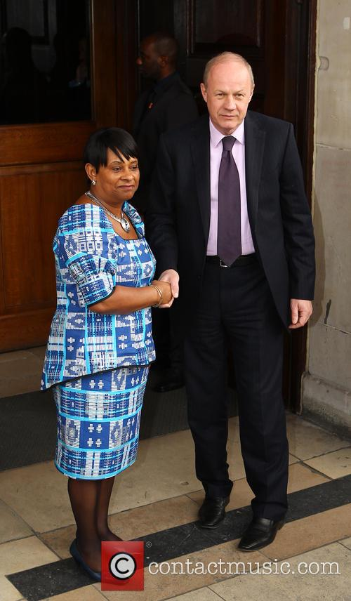 Doreen Lawrence and Damien Green 1