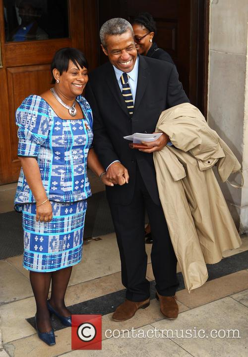 Doreen Lawrence and Hugh Quarshie 2