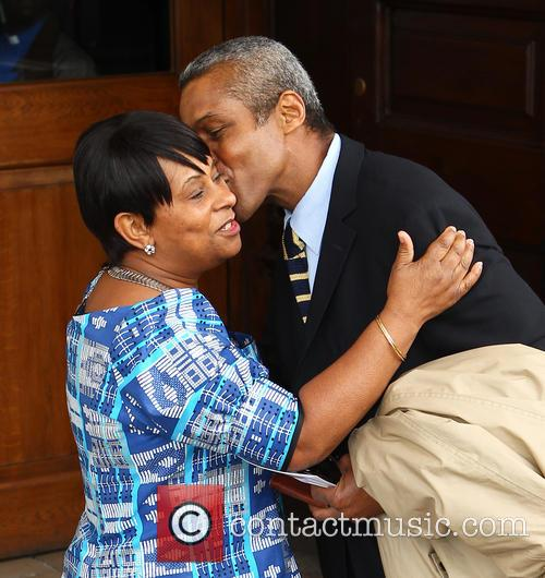 Doreen Lawrence and Hugh Quarshie 1
