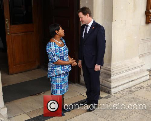 Doreen Lawrence and Nick Clegg 4