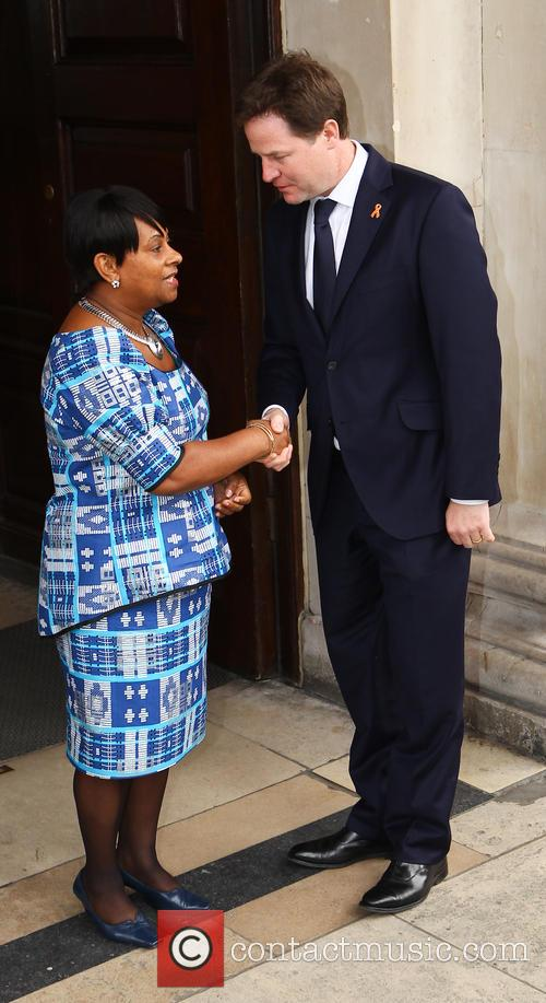 Doreen Lawrence and Nick Clegg 1