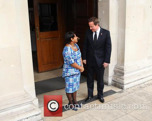 David Cameron and Doreen Lawrence 10