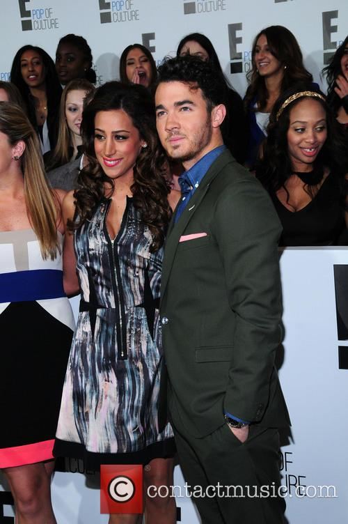 Danielle Jonas and Kevin Jonas 3