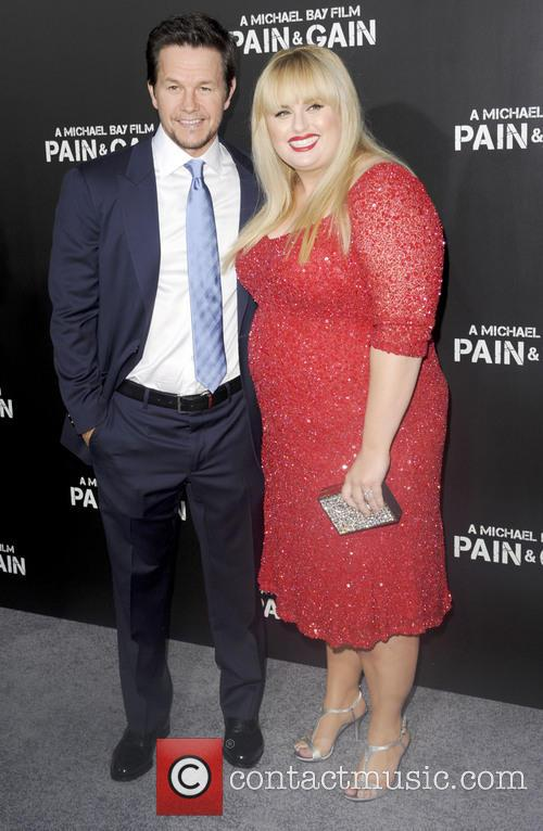 mark wahlberg rebel wilson pain gain los angeles 3622512