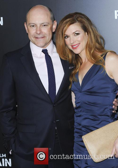Rob Corddry and Wife Sandy 4
