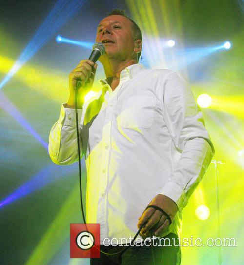 jim kerr simple minds performing on their 3623487