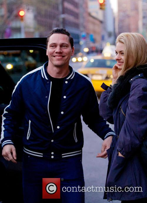 DJ Tiesto out and about in the Lower East Side in New York City