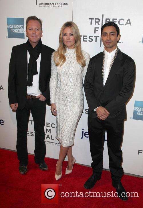 Kiefer Sutherland, Kate Hudson and Riz Ahmed 2