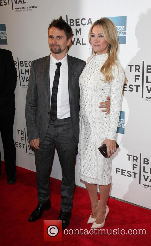 Matthew Bellamy, Kate Hudson, BMCC Tribeca Performing Arts Center