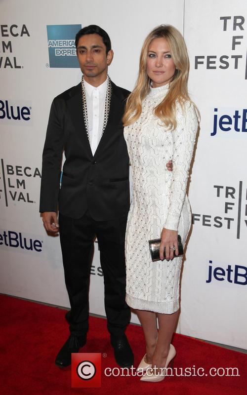 Riz Ahmed and Kate Hudson 2