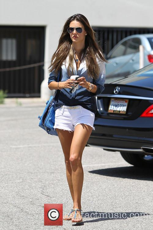 Alessandra Ambrosio seen out and about