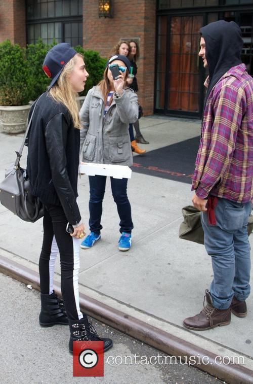 Cara Delevingne seen out and about