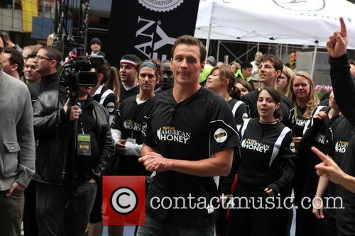 ryan lochte 2013 celebrity kickball game in 3623736