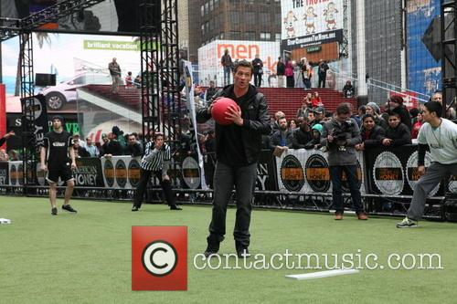 2013 Celebrity Kickball Game in Times Square in...