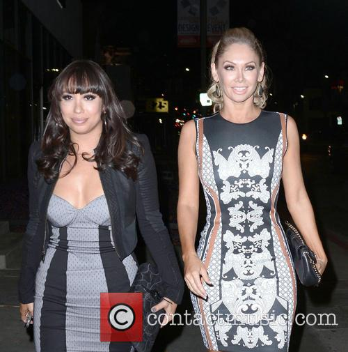 Cheryl Burke and Kym Johnson 6