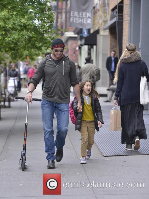 Hugh Jackman and Ava Jackman 8