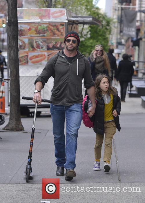 Hugh Jackman and Ava Jackman 9