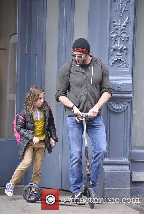 Hugh Jackman and Ava Jackman 10