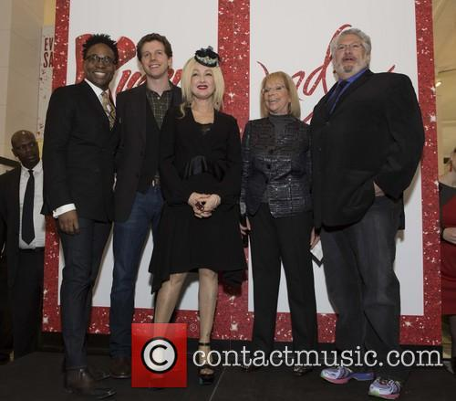 Billy Porter, Stark Sands, Cyndi Lauper and Harvey Fierstein 4
