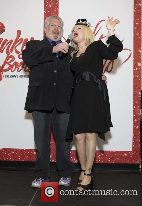 Picture harvey fierstein and cyndi lauper photo for Cyndi lauper broadway kinky boots