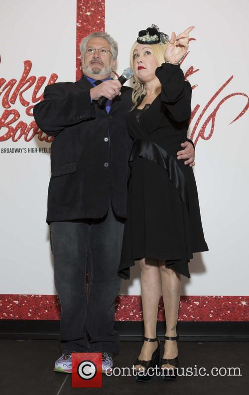 Harvey Fierstein and Cyndi Lauper 7