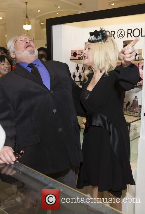Harvey Fierstein and Cyndi Lauper 8