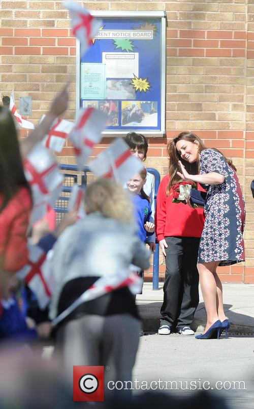 Catherine, Duchess of Cambridge in Manchester