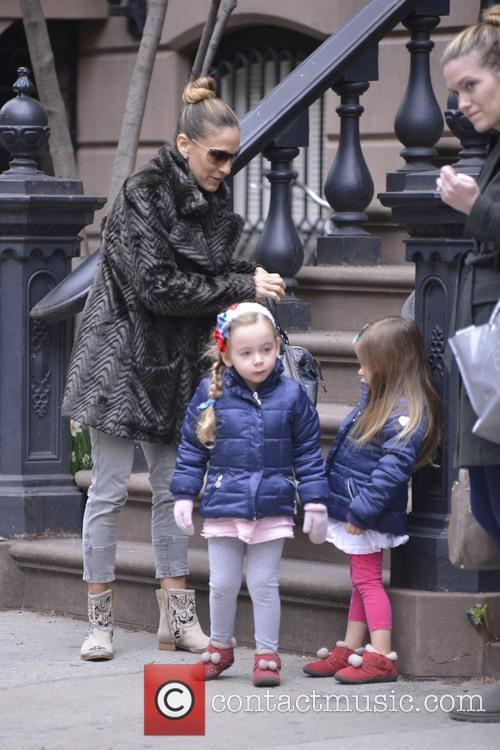 Sarah Jessica Parker, Marion Broderick and Tabitha Broderick 3