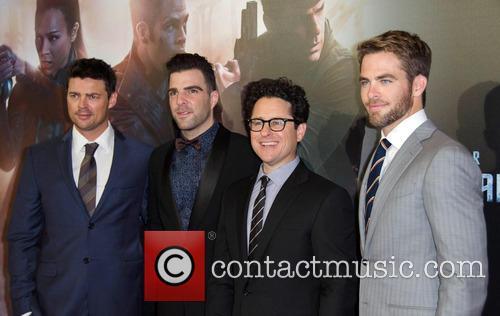 J.j Abrams, Chris Pine, Zachary Quinto and Karl Urban 2