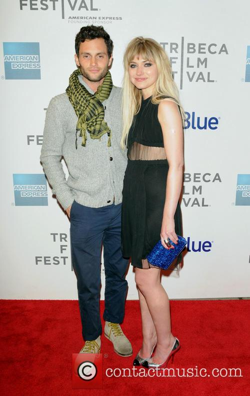 Penn Badgley and Imogen Poots 2