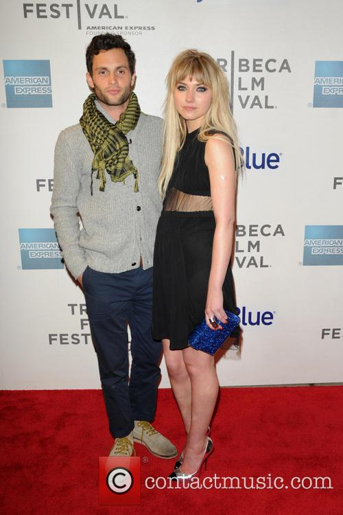 Penn Badgley and Imogen Poots 1