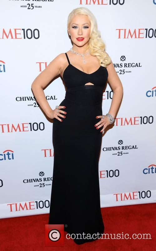 christina aquilera time 100 gala inside arrivals 3624227