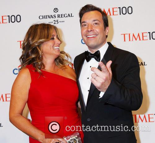 Nancy Juvonen and Jimmy Fallon 1