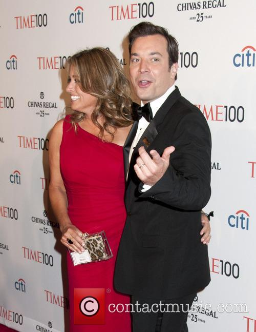 Jimmy Fallon and Nancy Juvonen 3