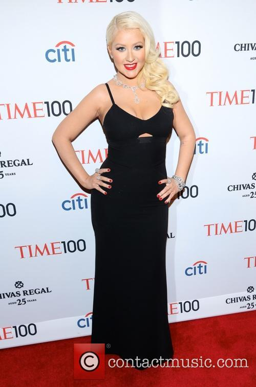 Christina Aguilera at the TIME 100 Gala in New York