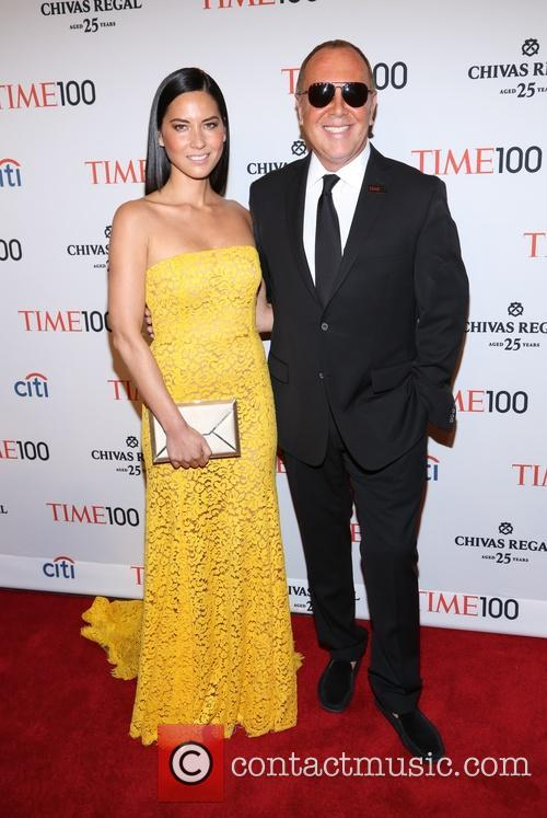 Olivia Munn and Michael Kors 9